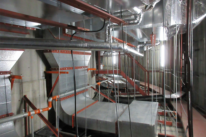 Air-conditioning Duct Installation Work
