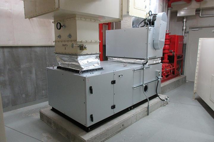 Air Handling Unit Installation Work