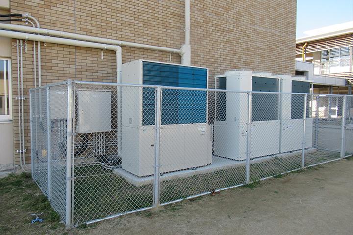 Gas Heat Pump Unit Installation Work